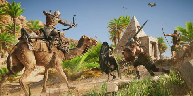 Ubisoft Releases ASSASSIN'S CREED ORIGINS: FROM SAND Cinematic Trailer
