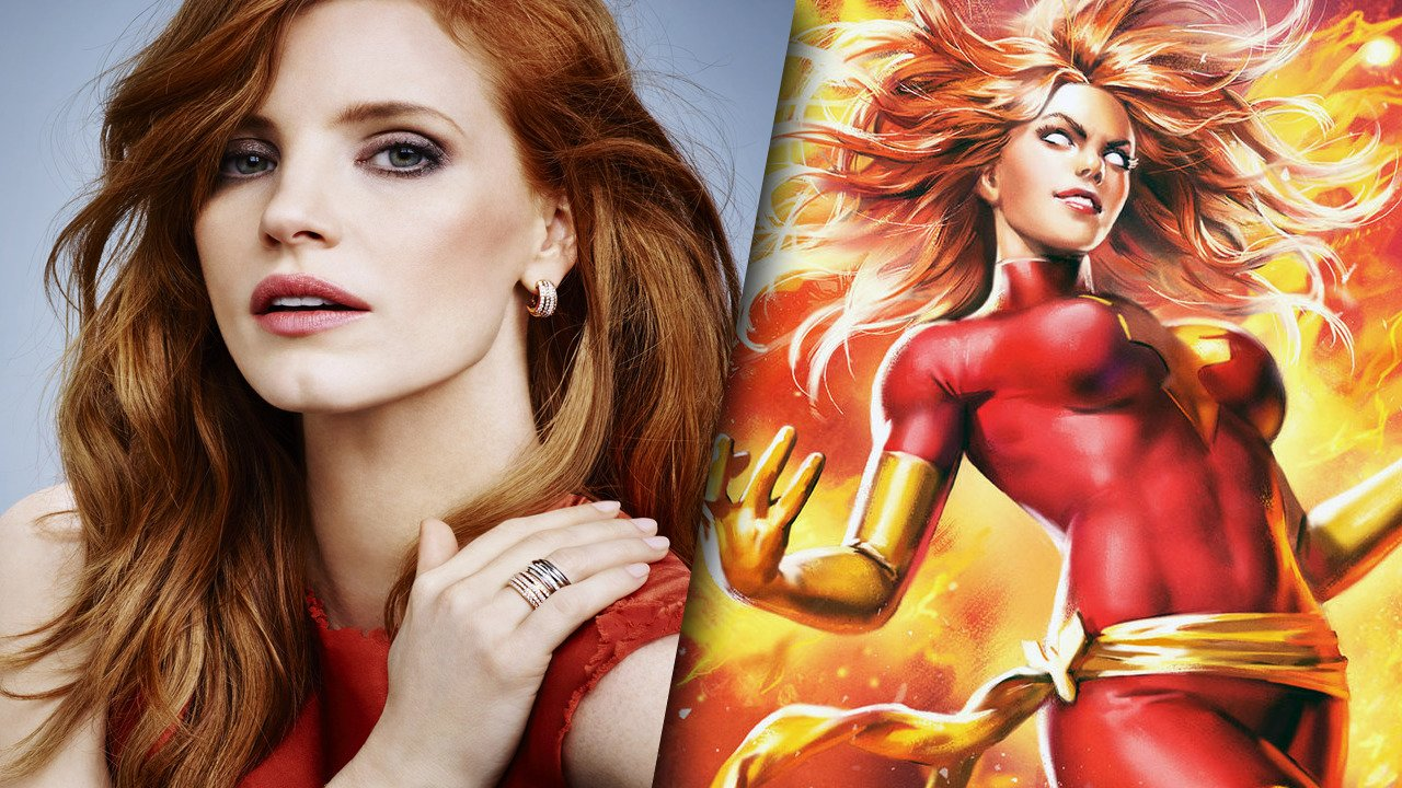 Jessica Chastain Also Being Eyed For X-Men: Dark Phoenix