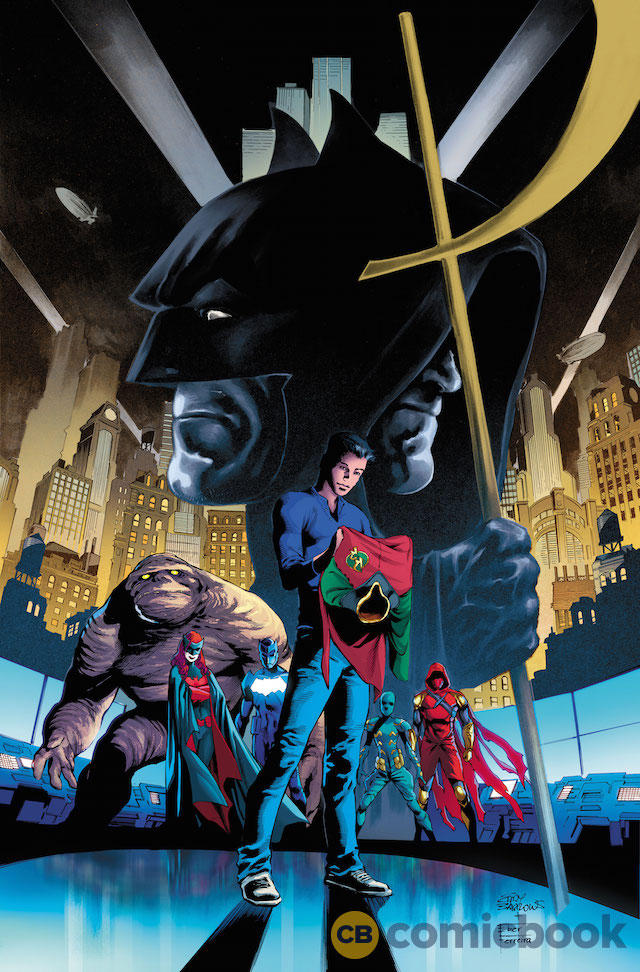 Oz And Tim Drake Feature In Action Comics And Detective Comics ...