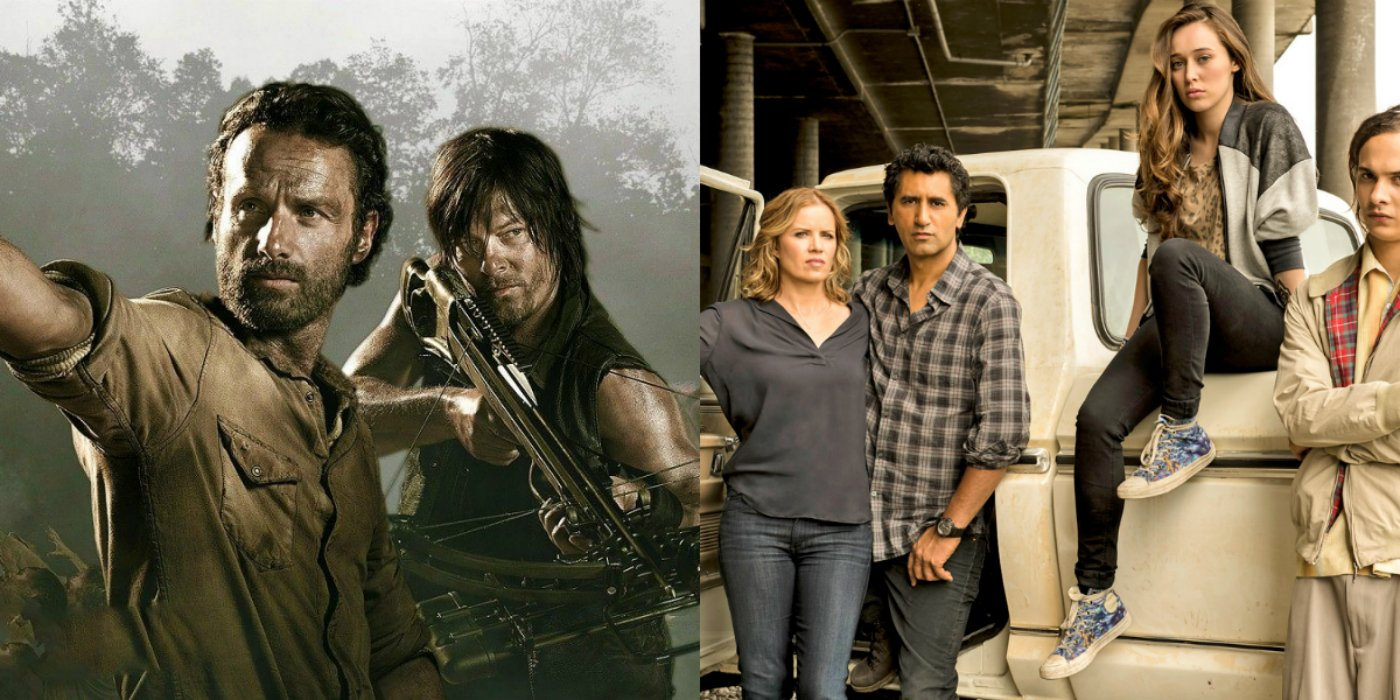 The Walking Dead Exec Producer Rules Out A Crossover With Fear