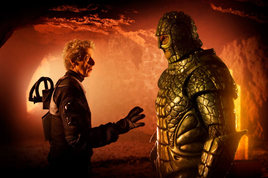 The Time Lord Meets A Martian Menace In New Doctor Who Clip And Photo Gallery