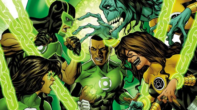Green Lanterns Introduces A New/Old Ringslinger This Week