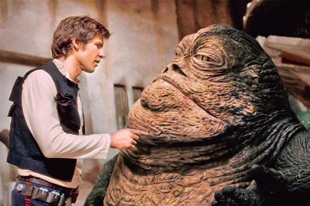 Han Solo Spinoff May Feature Jabba The Hutt