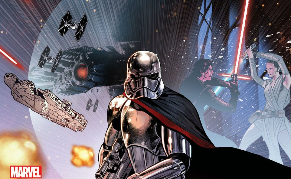 Marvel Grants First Look Inside Journey To Star Wars: The Last Jedi - Captain Phasma #1