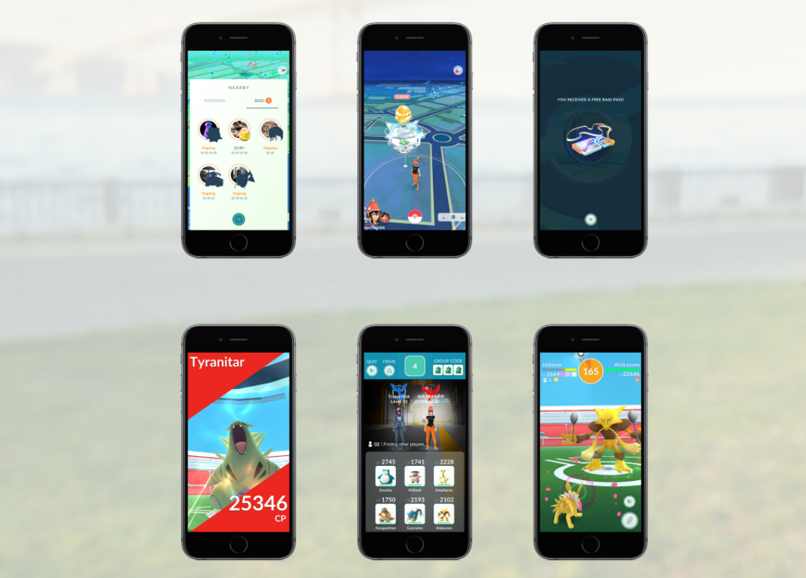 Raid Battles And New Gym Features Coming To Pokemon Go