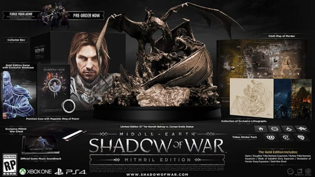 Balrogs And Dark Lords Aplenty In New Story Trailer For Middle-Earth: Shadow Of War