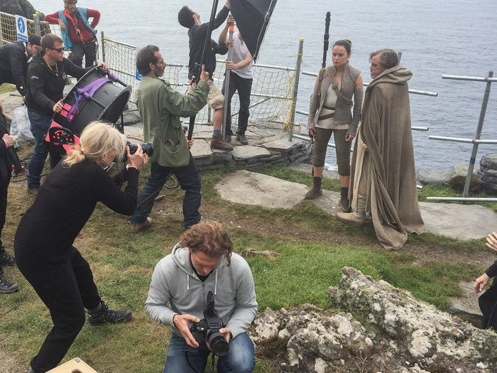 BTS Pics From Star Wars: The Last Jedi Spotlight Canto Bight And The Late, Great Carrie Fisher