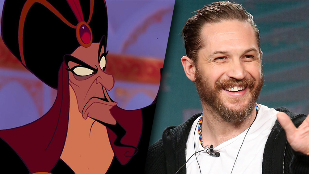 Is Tom Hardy Being Eyed For Jafar In The Aladdin Remake?