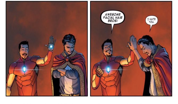 Benedict Cumberbatch, Robert Downey Jr. And Mark Ruffalo Unite In Avengers: Infinity War Set Photo