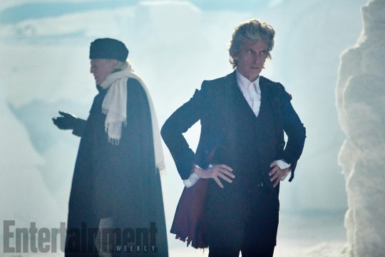 EW Debuts First Photo From Upcoming Doctor Who Christmas Special