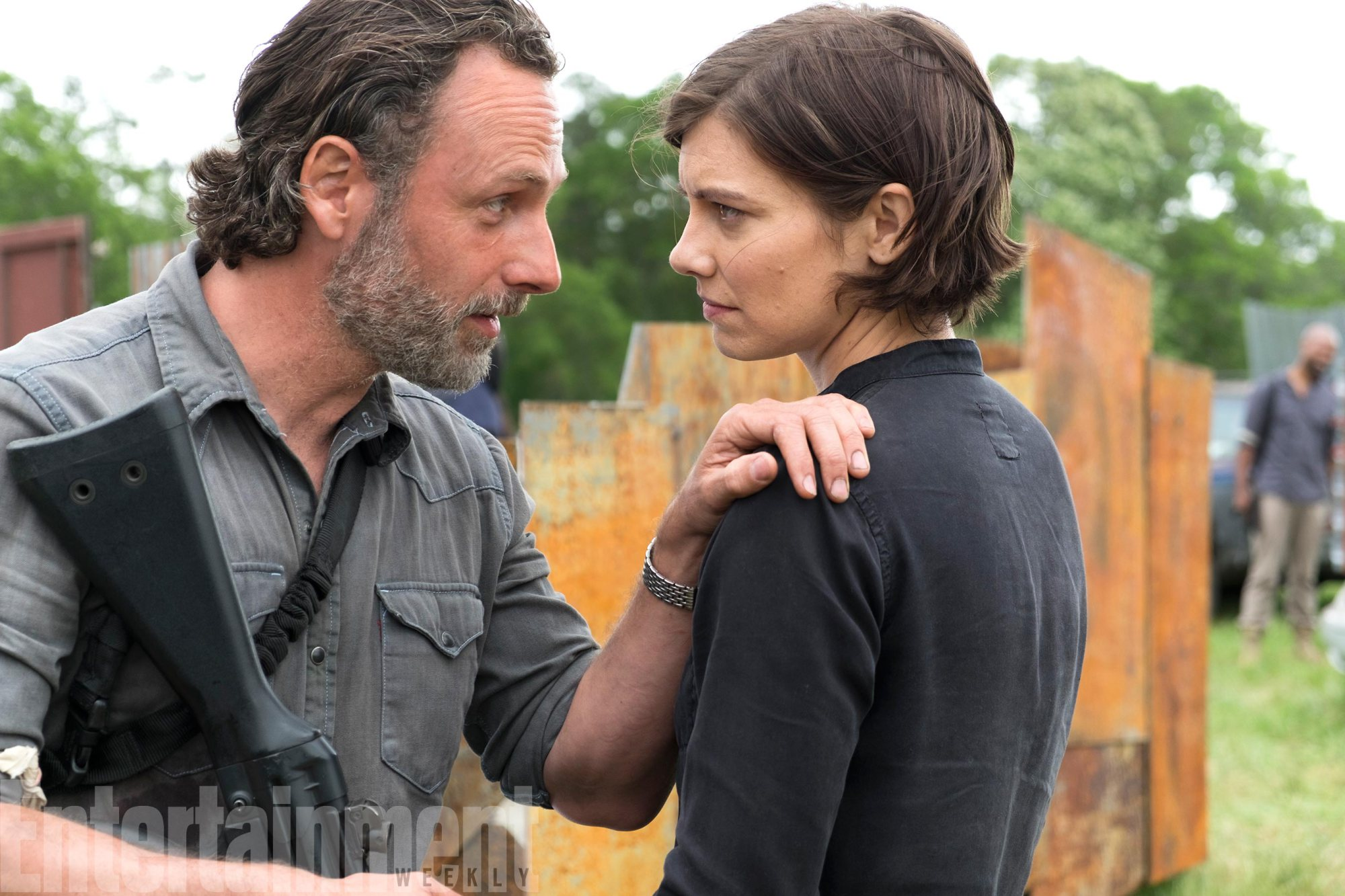 The Walking Dead: Rick And Maggie Prepare For War In New Season 8 Photo