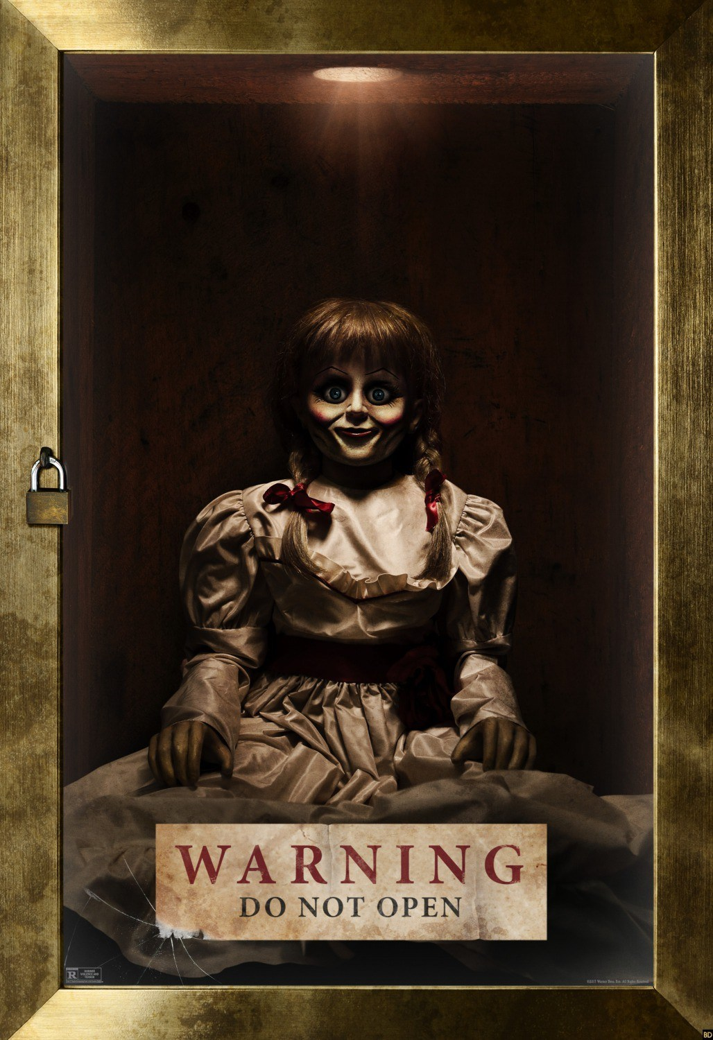 New Poster For Annabelle: Creation Delivers A Grave Warning