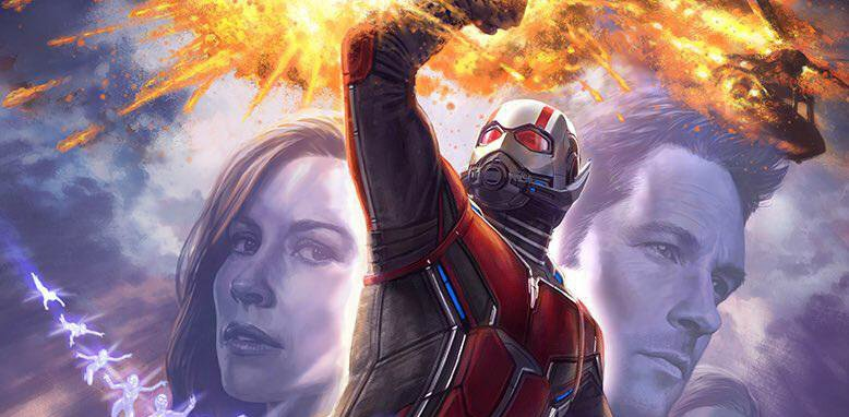 New Ant-Man And The Wasp Set Video Teases Epic Car Stunt
