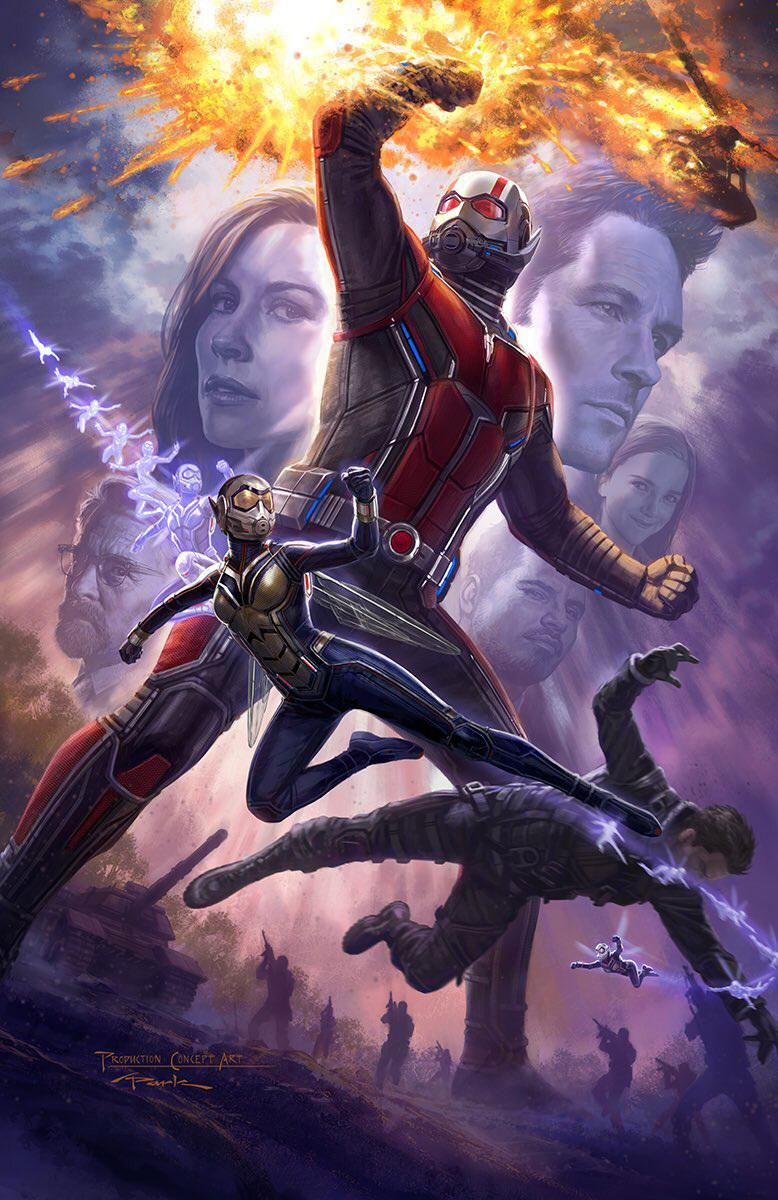 SDCC Poster For Ant-Man And The Wasp Scurries Online
