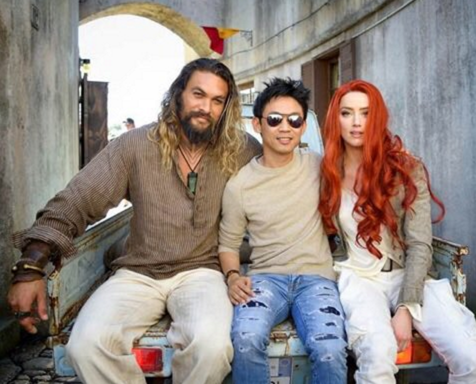 Another Aquaman Set Photo Finds Mera And The King Of Atlantis Between Takes