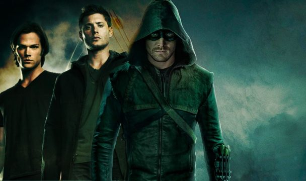 "Stephen Amell Is ""Totally Up For"" Arrow/Supernatural Crossover"