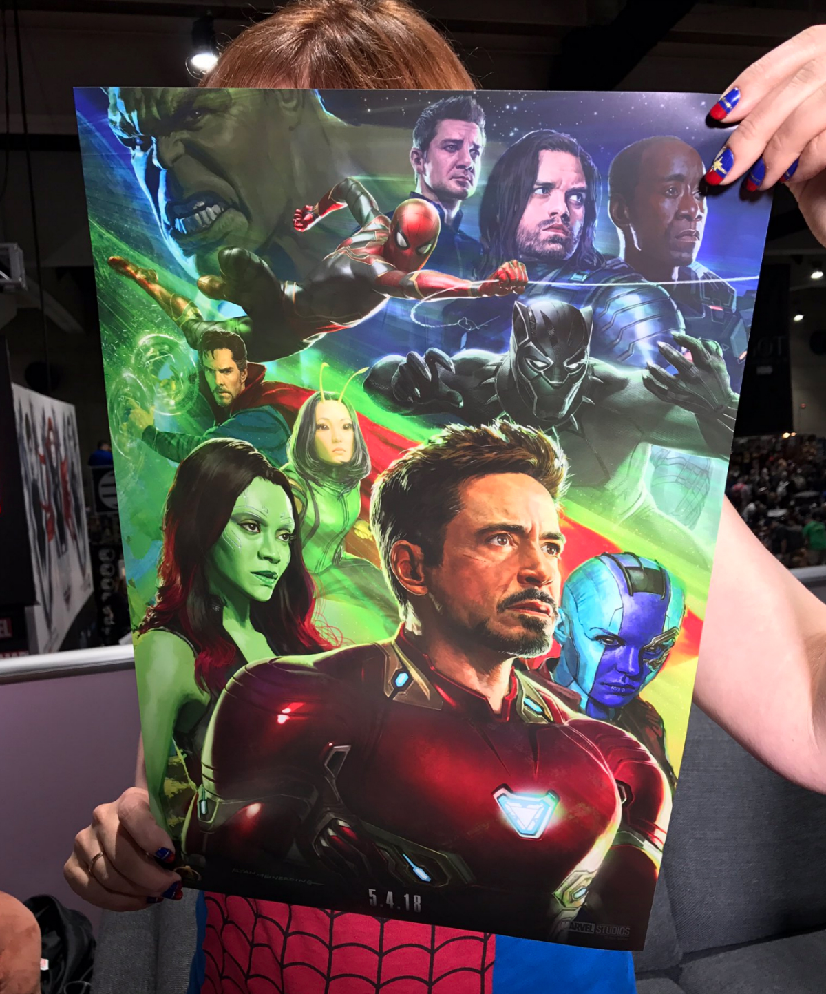 Avengers: Infinity War SDCC Poster Brings Together Some Of Your Favorite Marvel Mascots