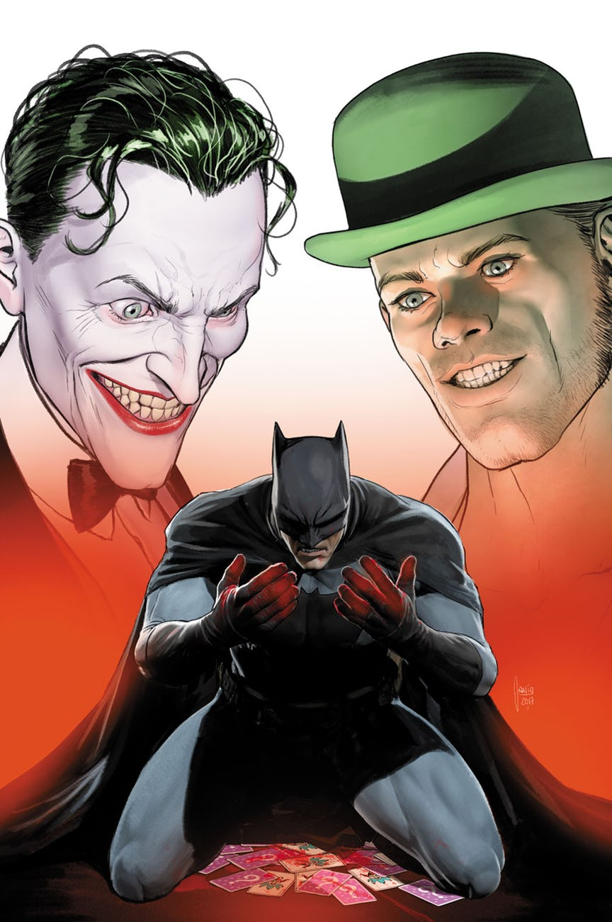Here's What DC Has In Store For Batman This Fall