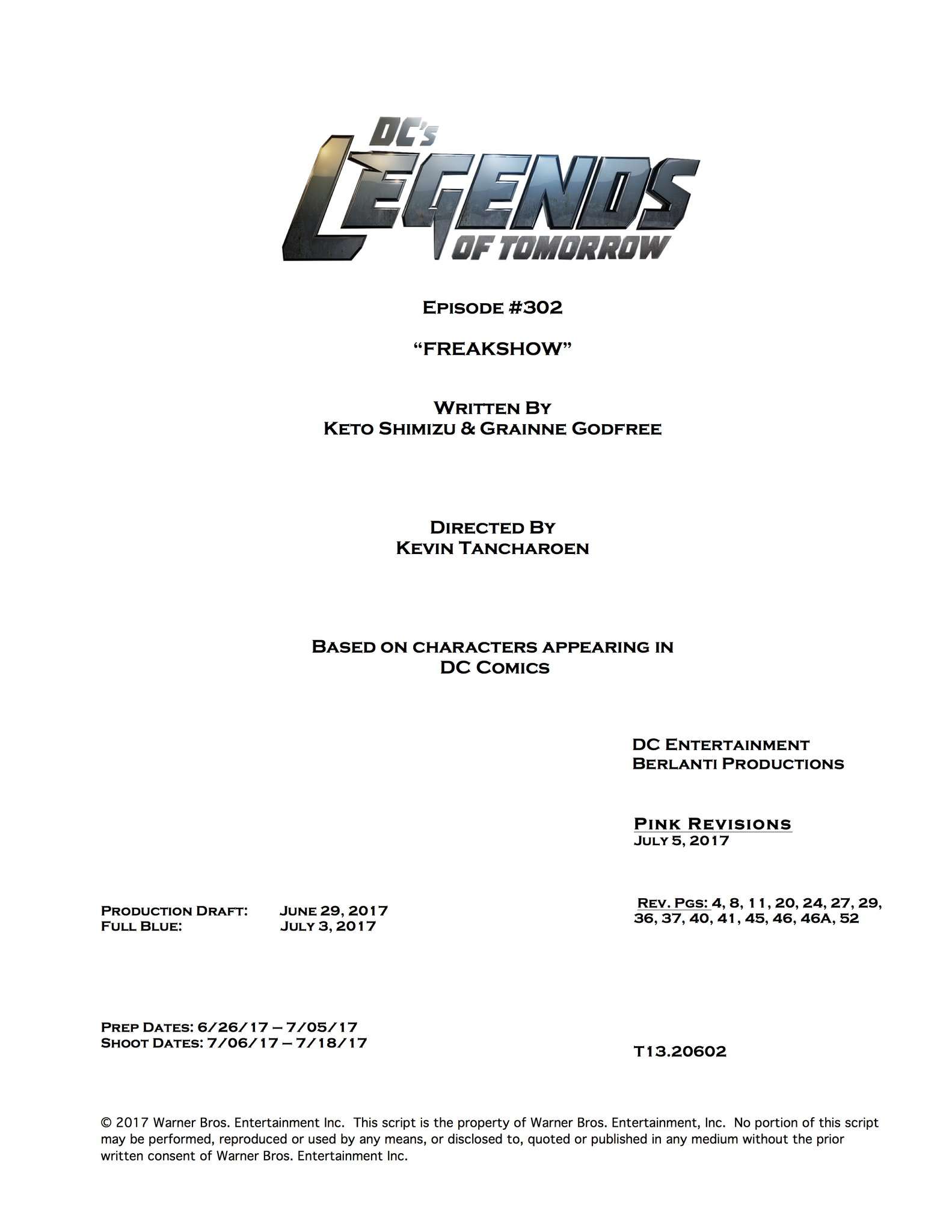 Legends Of Tomorrow Season 3 Begins Production - But With A Twist