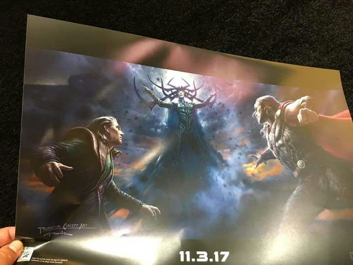 Awesome New Posters For Black Panther And Thor: Ragnarok Unveiled At SDCC