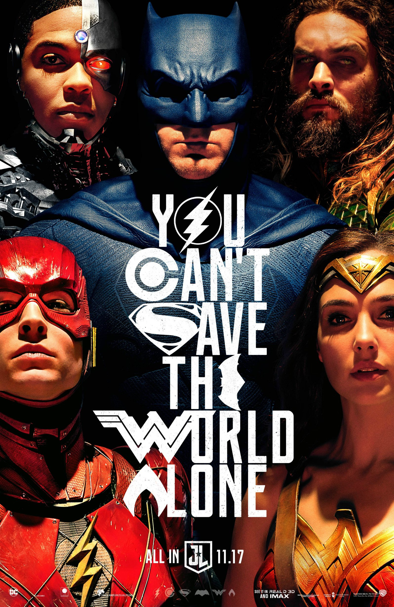 New Justice League Poster Promotes Teamwork
