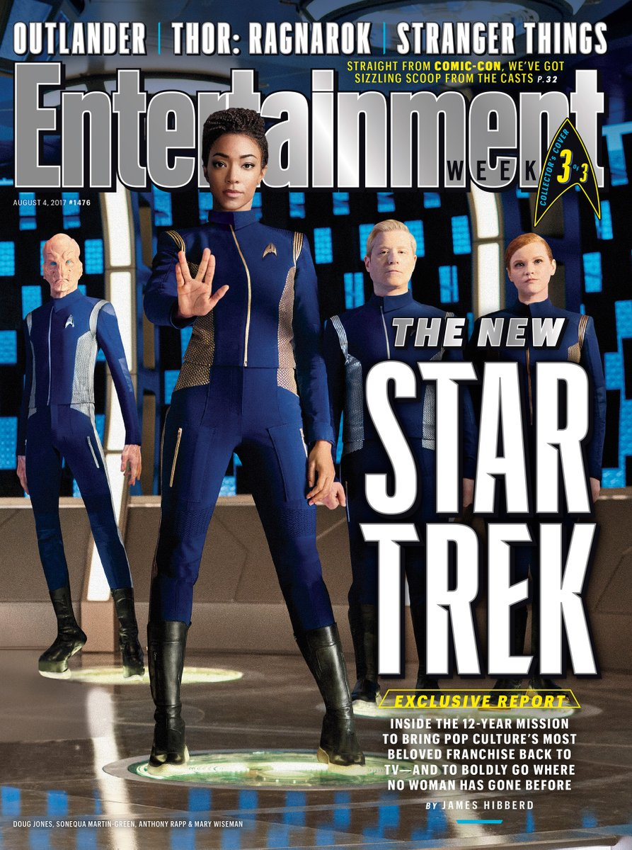 Boldly Go And Look At These Awesome Star Trek: Discovery EW Covers