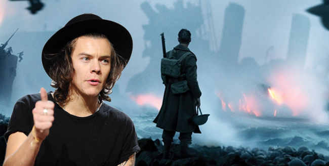 Harry Styles Opens Up About Filming Explosive Beach Scenes in 'Dunkirk'