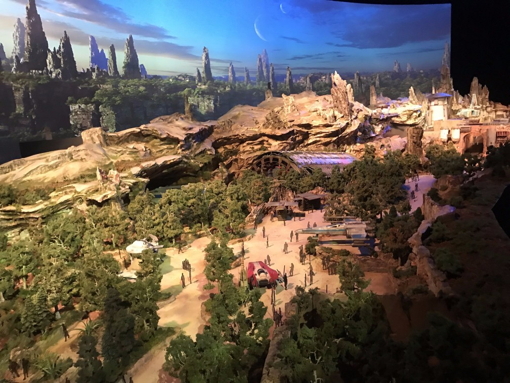 Disney's Star Wars Land Theme Park Looks Like A Dream Come True