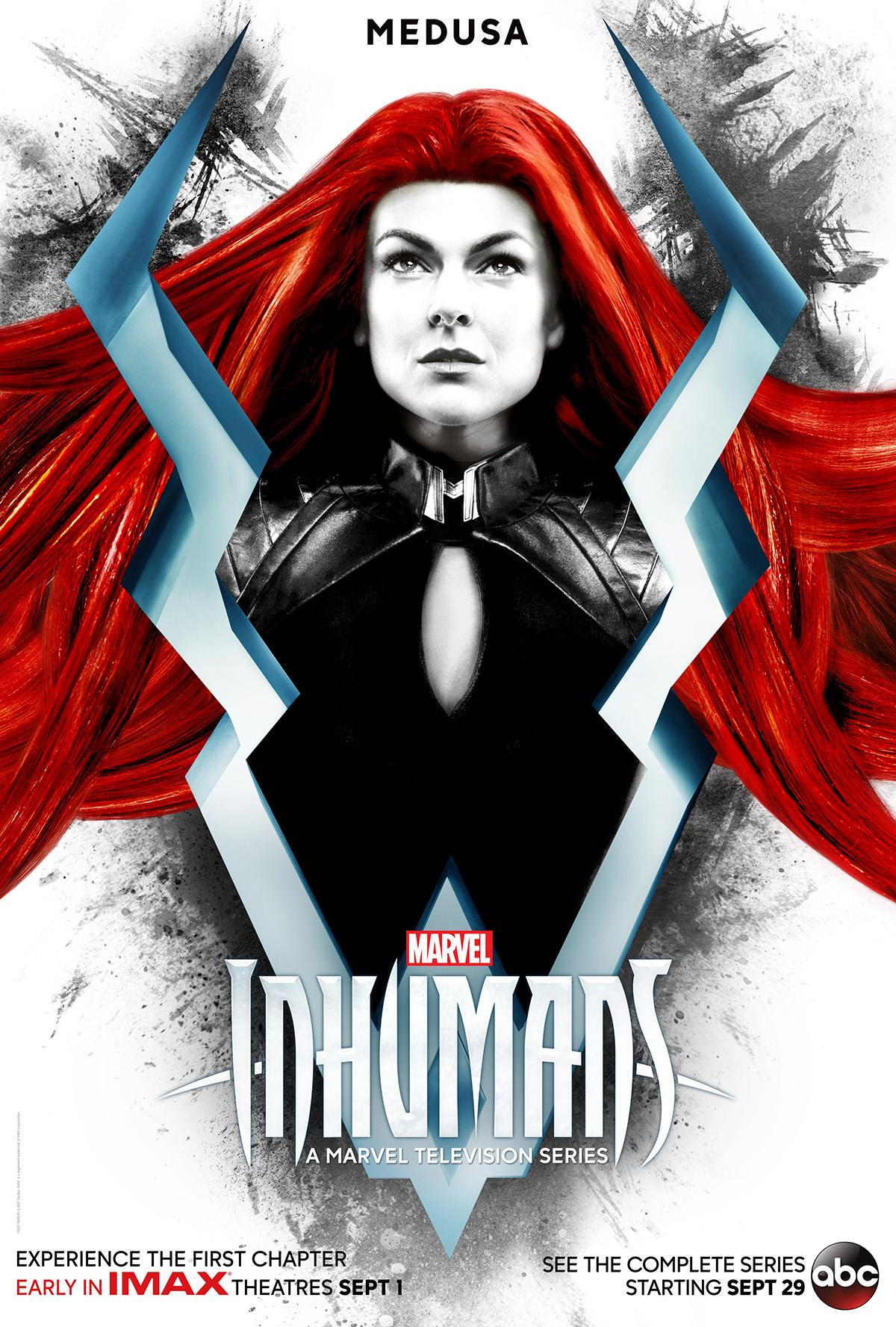 Three Character Posters For Inhumans Introduce Part Of Marvel's Royal Family