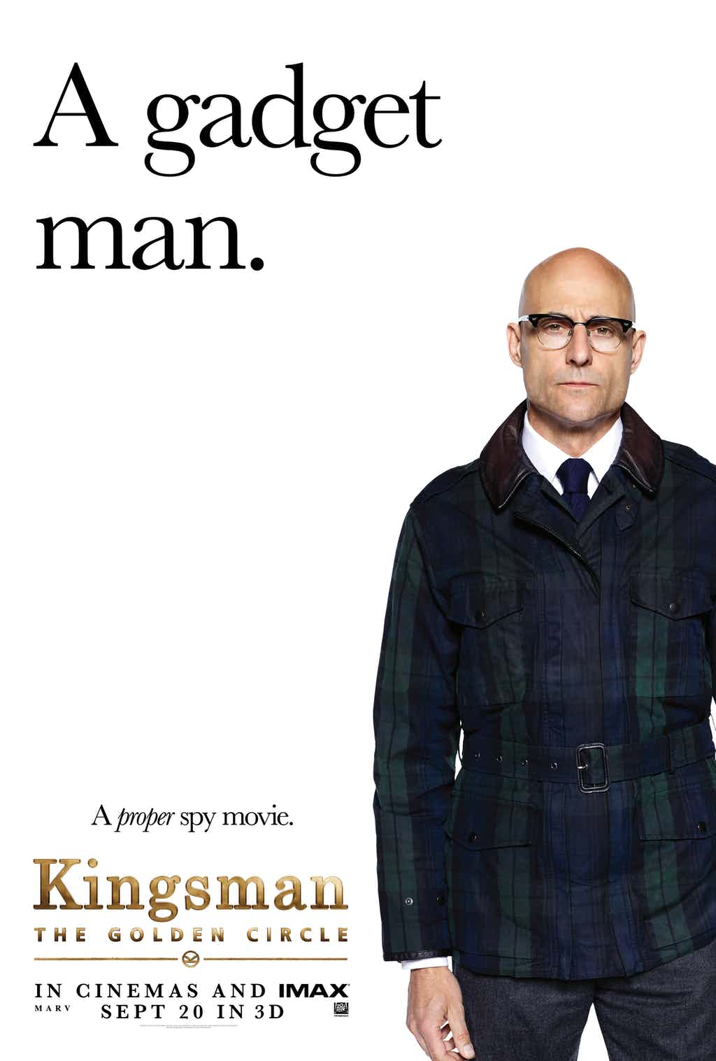 Kingsman: The Golden Circle Gets Meta With New Character Posters