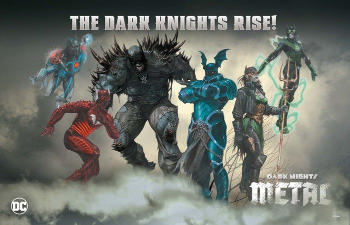 The Dark Knights Rise: Metal's Evil Batmen Revealed