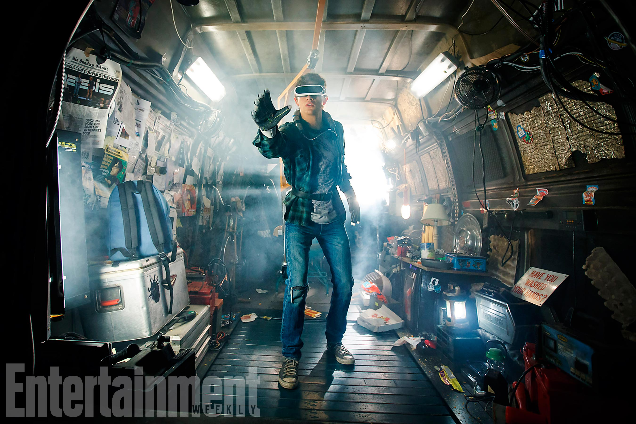 First Look At Ready Player One Invites You Into Wade's Super Secret Hideout