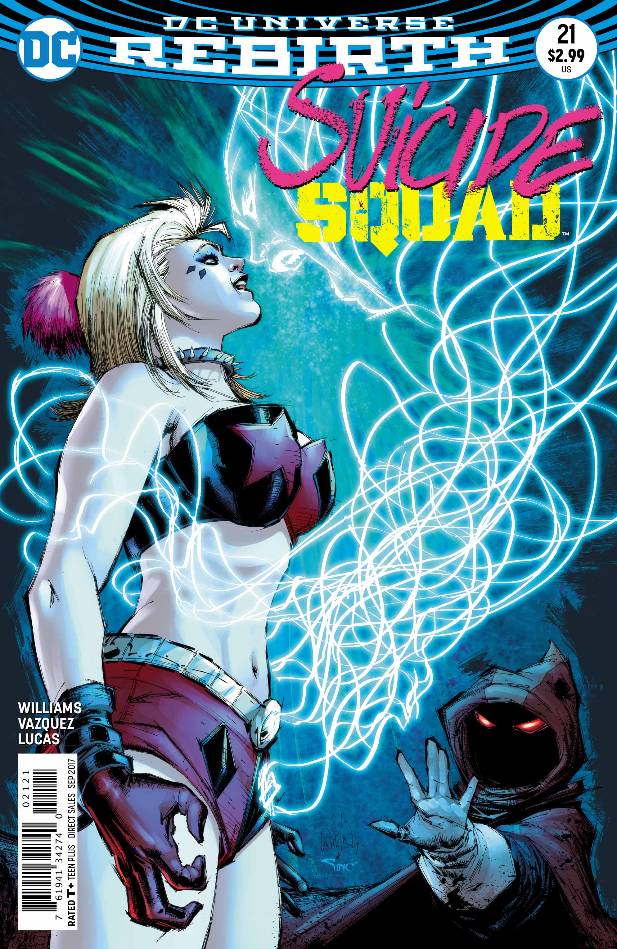 Exclusive Preview: Harley Quinn Takes Control In Suicide Squad #21