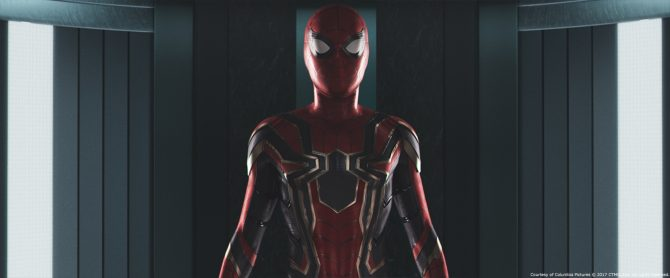 Homecoming Image Offers A Closer Look At The Iron Spider Suit