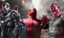 Spider-Man: Homecoming Originally Included Vision And War Machine