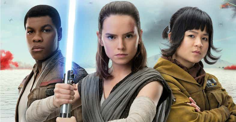 New Star Wars: The Last Jedi Photo Brings Together Rey, Finn And Rose