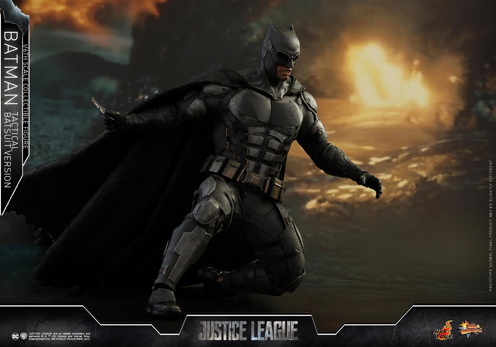 The Dark Knight's Tactical Suit Is Featured In Latest Justice League Merch