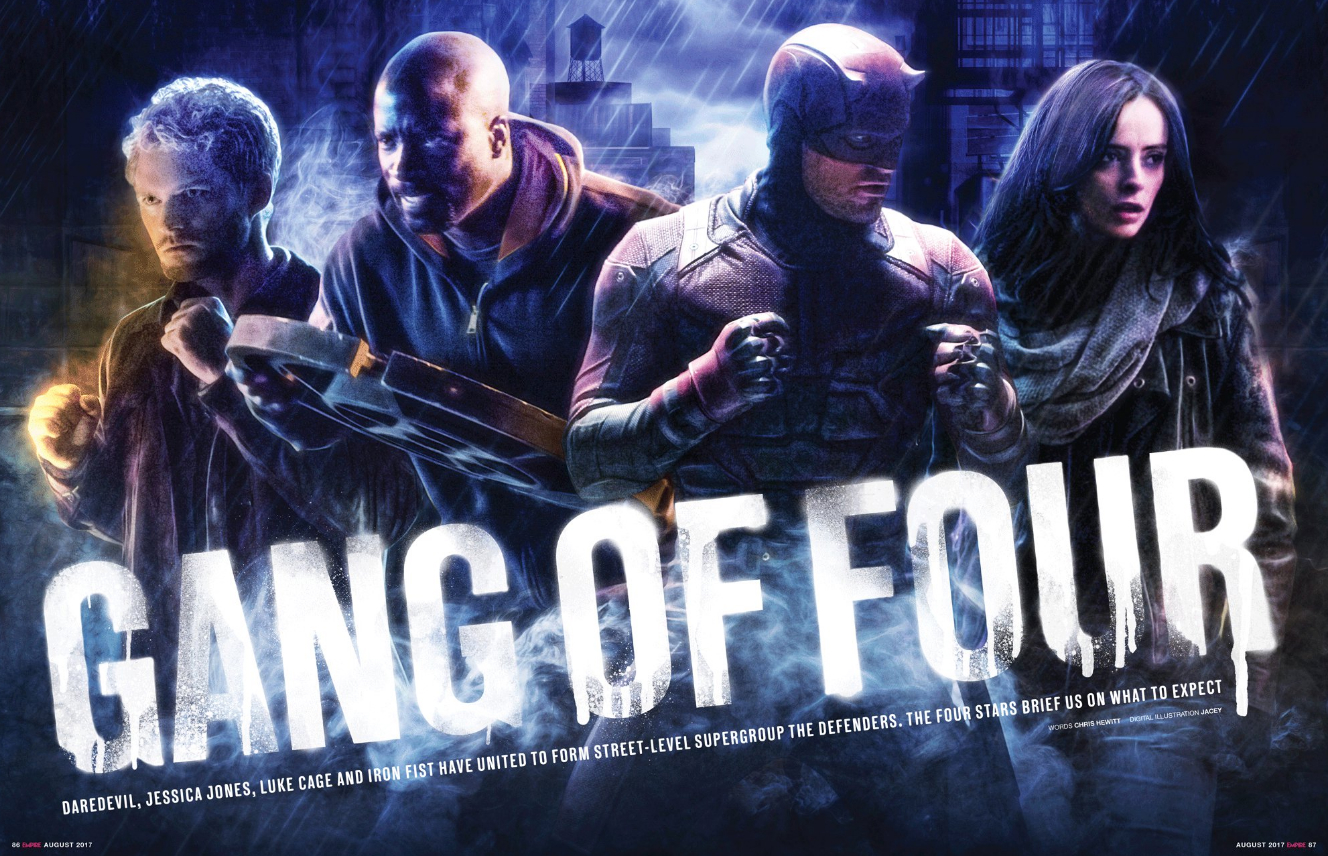 Netflix's Fantastic Four Come Together In All-New Promo Image For The Defenders