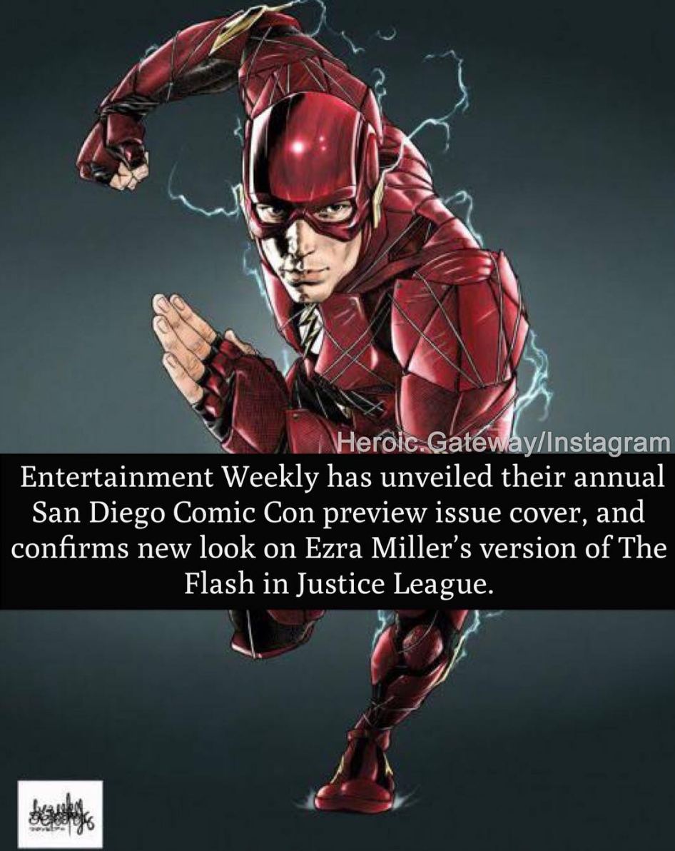 Rumored New Costume For The Flash Emerges Ahead Of Justice League's SDCC Showcase