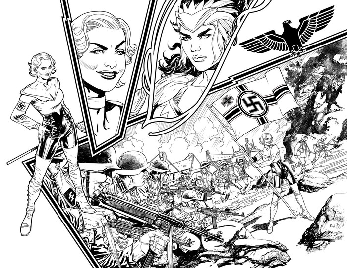 Grant Morrison Announces Arkham Asylum 2 And Wonder Woman: Earth One Volume Two At SDCC