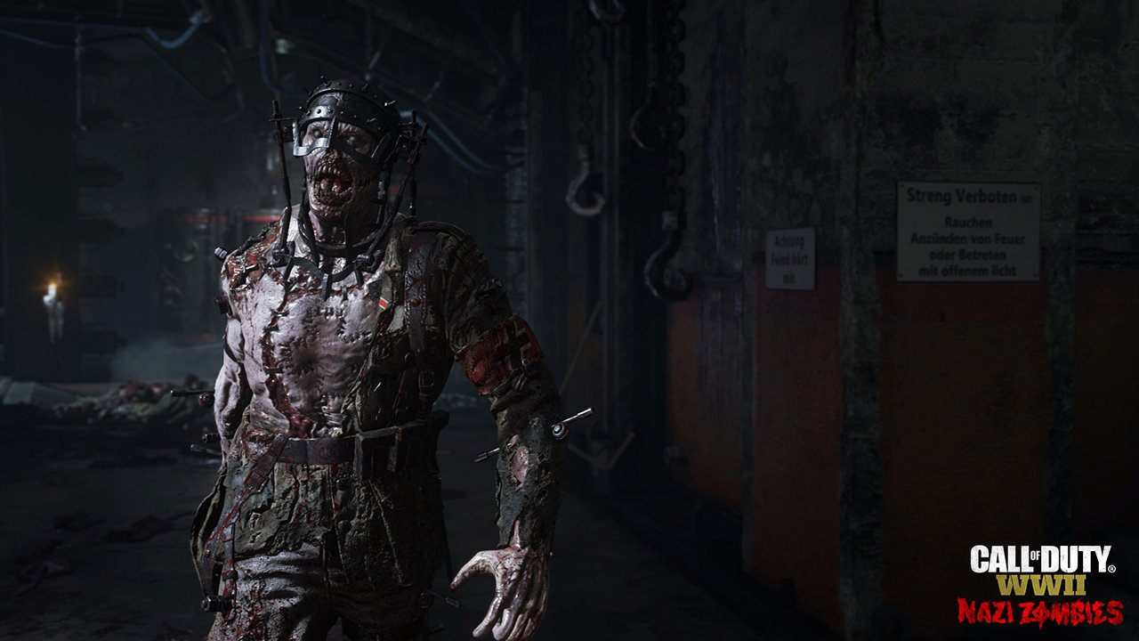 The Drums Of War Beat Loudly In Call Of Duty: WWII's Nazi Zombies Reveal Trailer