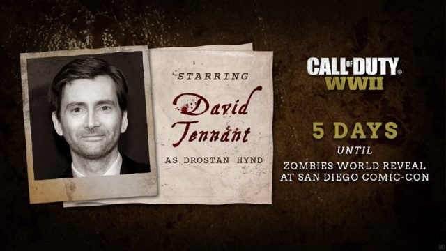 Call Of Duty: WWII Zombies Cast And Trailer Leaked Ahead Of Official Reveal