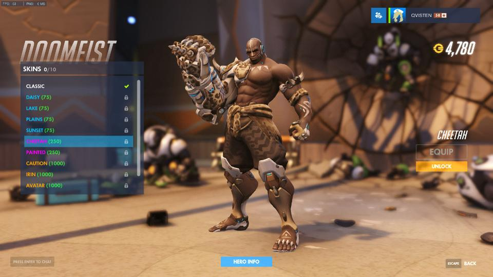 Latest Overwatch PTR Update Adds New Skins For Doomfist, Buffs Zarya, McCree