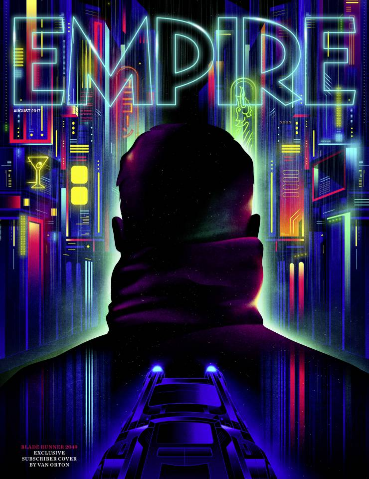 Neon-Drenched Empire Cover For Blade Runner 2049 Invites You Back To Future Los Angeles