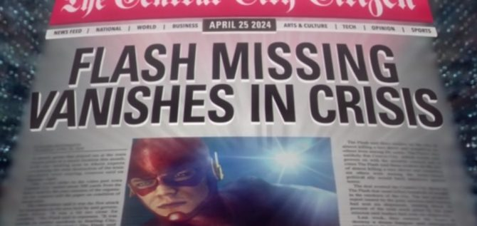 Grant Gustin Says The Flash's Goal Is To One Day Adapt Crisis On Infinite Earths
