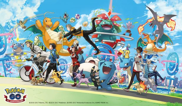 Niantic Celebrates Pokemon GO's First Birthday With Anniversary Event