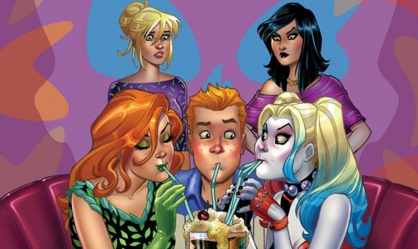 DC And Archie Team Up For Harley & Ivy Meet Betty & Veronica