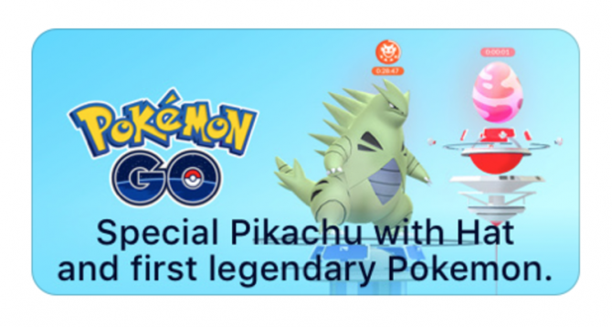 New Pokemon GO Ad Hints At The Arrival Of Mobile Title's First Legendary Pokemon