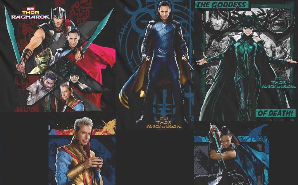 Thor: Ragnarok Promo Images Offer New Looks At The Cast