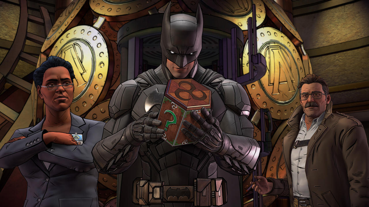 Batman: Sins Of The Father Brings The Telltale Series To Comics